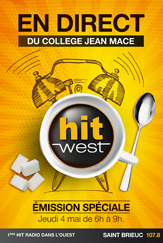 Hit West EMISSION SPECIALE College Jean Mace